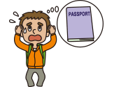 Your passport or credit card is lost/stolen...